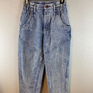 Vintage Pepsi High Waisted Carrot Jeans 9 Blue